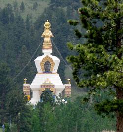 The Great Stupa of Dharmakaya at Shambhala Mountain Center