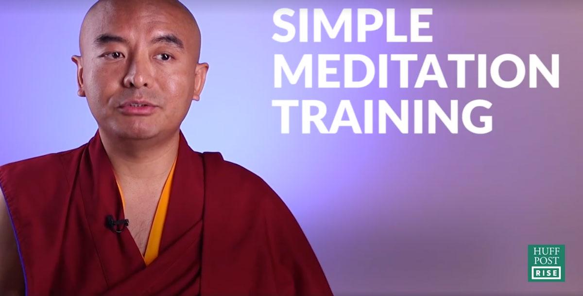 Mingyur Rinpoche – training your monkey mind