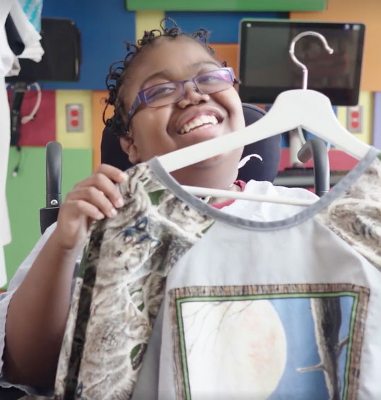 """Playfulness"" Creates Custom Hospital Gowns"
