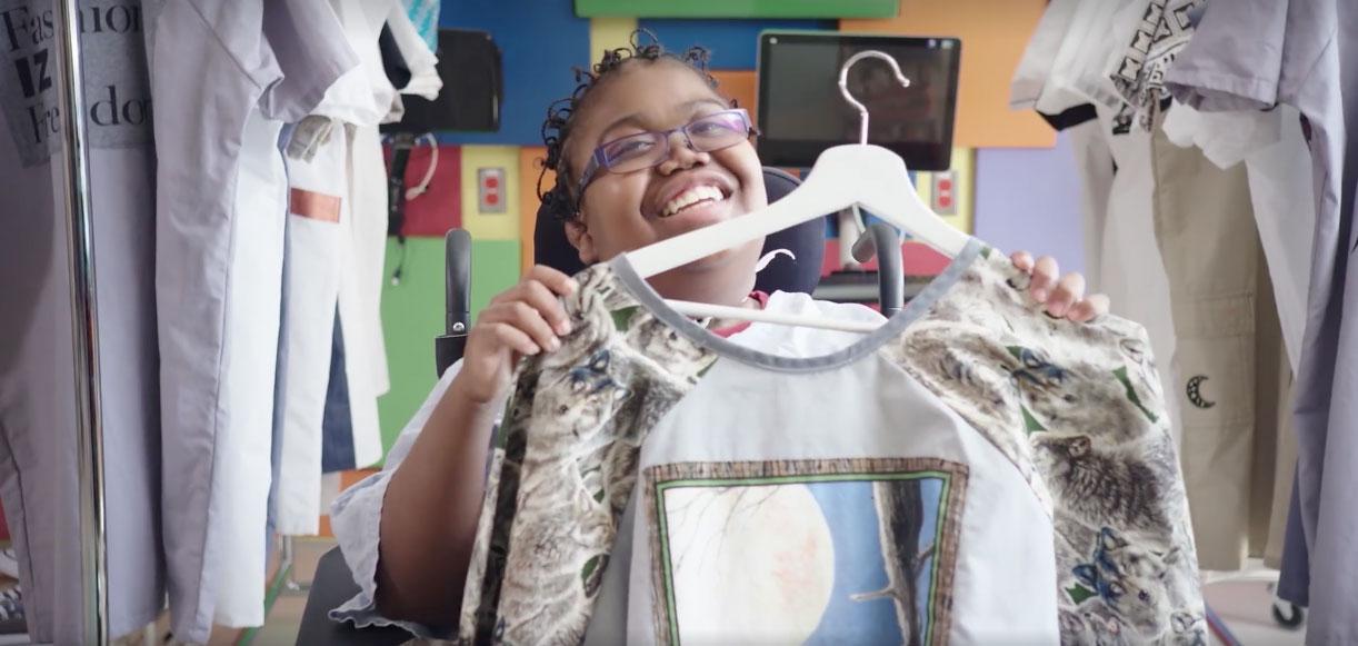 """Playfulness"" Creates Custom Hospital Gowns"