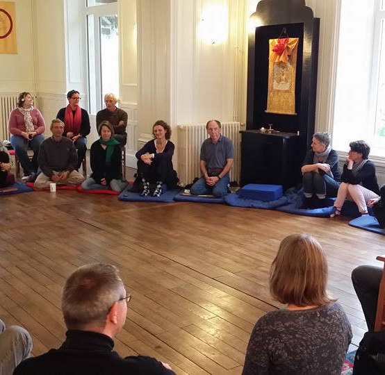 Training Staff at a Buddhist Retreat Center in France