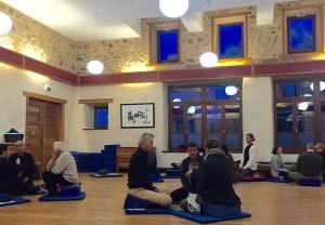 Mindful Communication workshop at Dechen Choling Retreat Center, Central France.