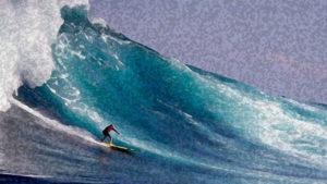 Surfing the Tsunami: a Meditation on Inner Power